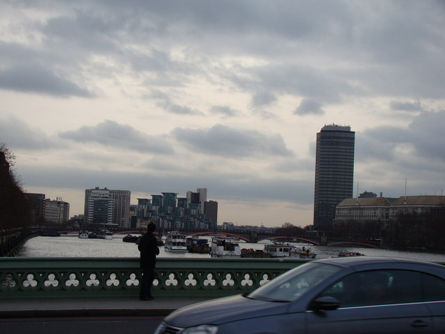 View of Lambeth from Westminster Bridge Road