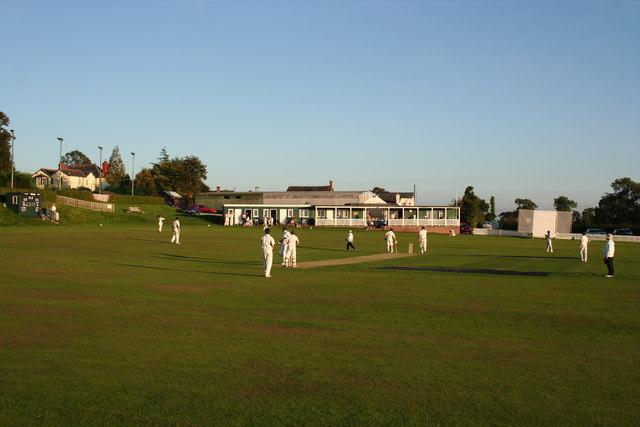 Cricket pitch, Malpas