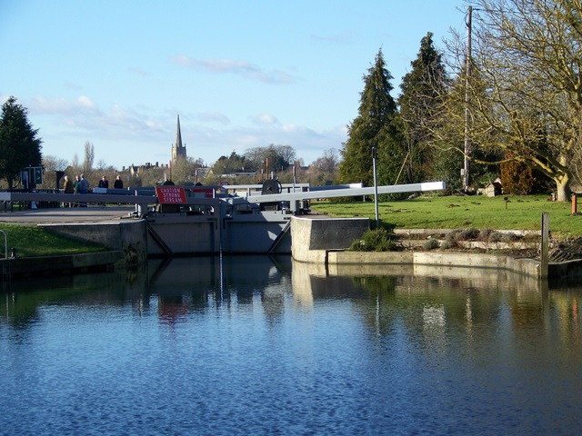 Lock, Lechlade on Thames