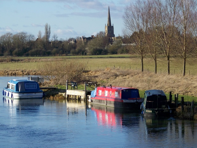 The River Thames, Lechlade on Thames
