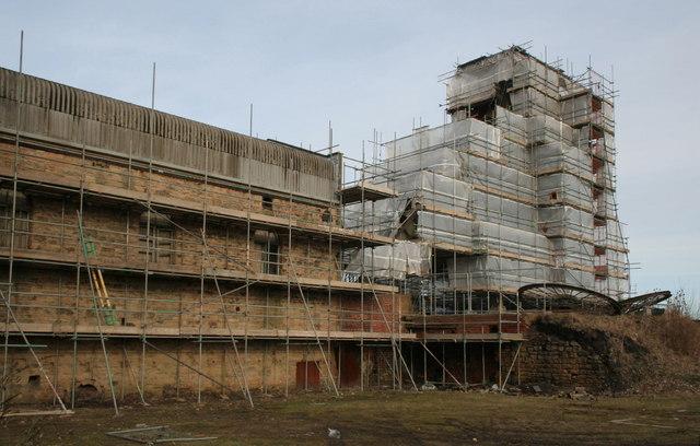 Pleasley Colliery refurbishment (1)