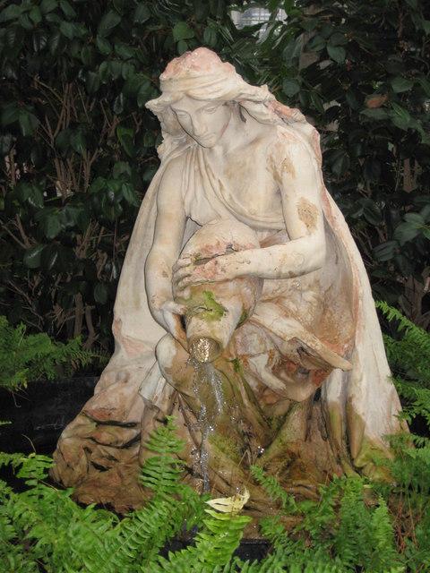 Statue in the Wintergardens