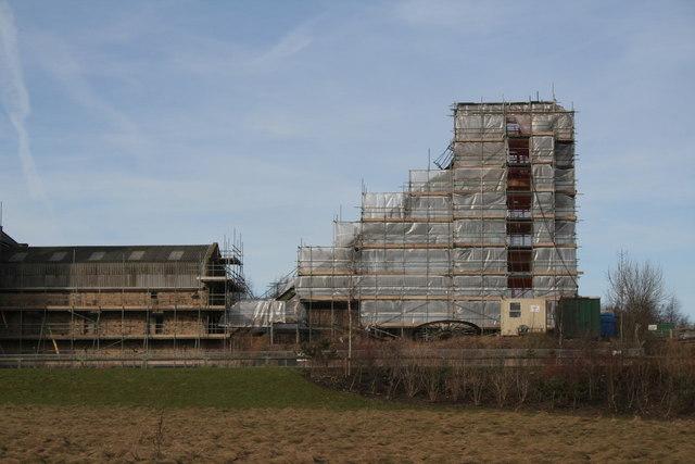 Pleasley Colliery refurbishment (3)