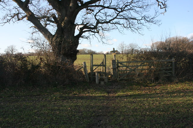Stile on the High Weald Landscape Trail