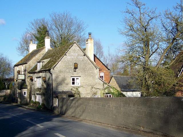The Trout Inn, Lechlade on Thames