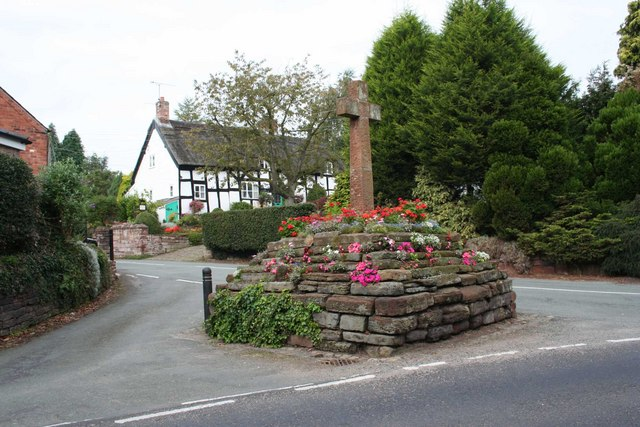 Village cross, Eaton