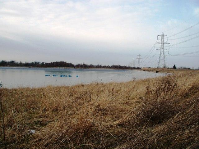 Reservoir near Durham Lane
