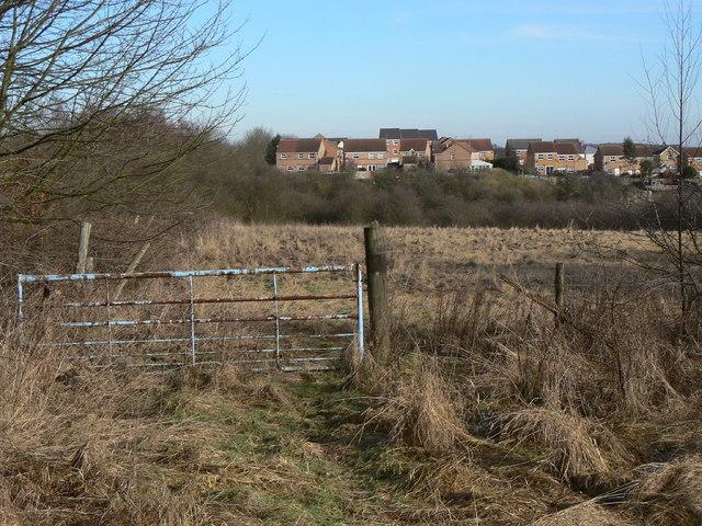 View towards Upper Pleasley