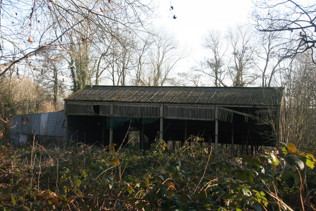 Ruined barn, Chartners Farm