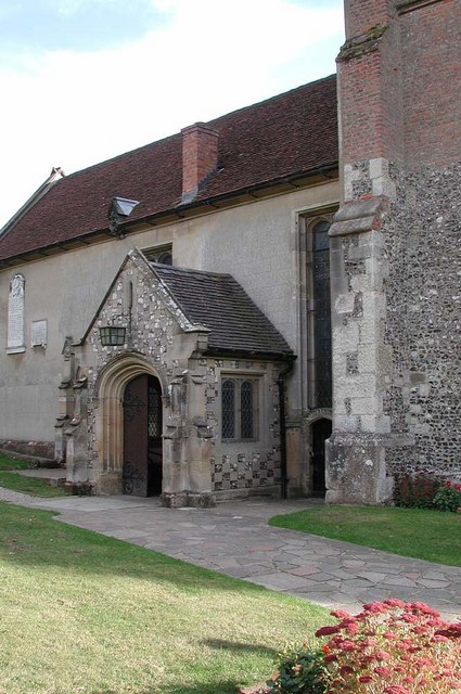 St Mary, Harefield - Porch