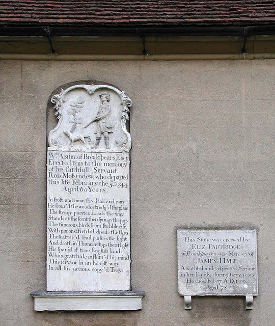 St Mary, Harefield - Wall monuments