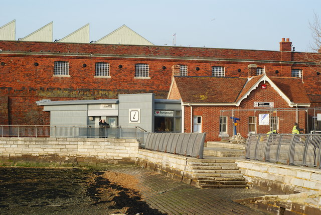 Tourist Information Office, Portsmouth Harbour