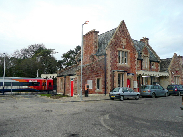 Axminster railway station