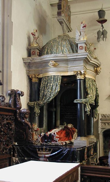 St Mary, Harefield - Monument