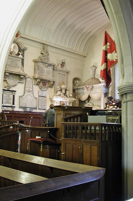 St Mary, Harefield - Monuments
