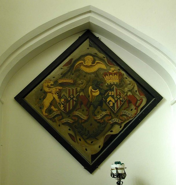 St Mary, Harefield - Hatchment