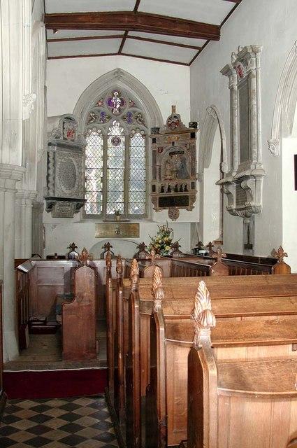 St Mary, Harefield - Interior
