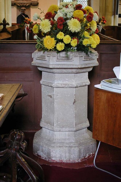 St Mary, Harefield - Font