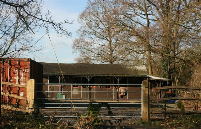 Stables south of Butcherfield Lane