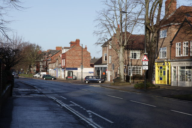 View looking towards Clifton Green