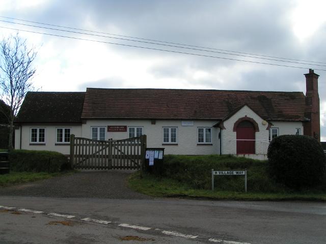 Aylesbeare village hall