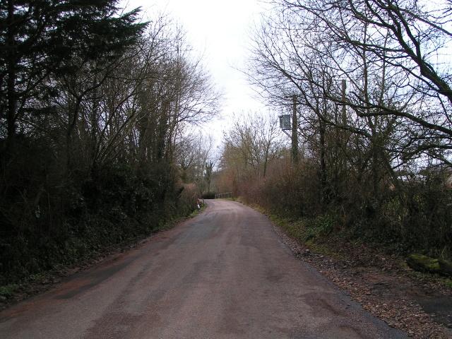 Lane to Beautiport farm