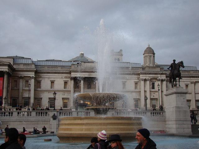Fountain in Trafalgar Square
