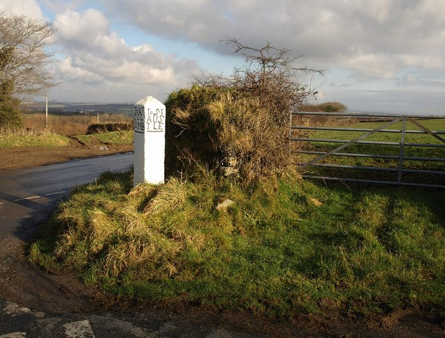Direction stone, Reperry Cross