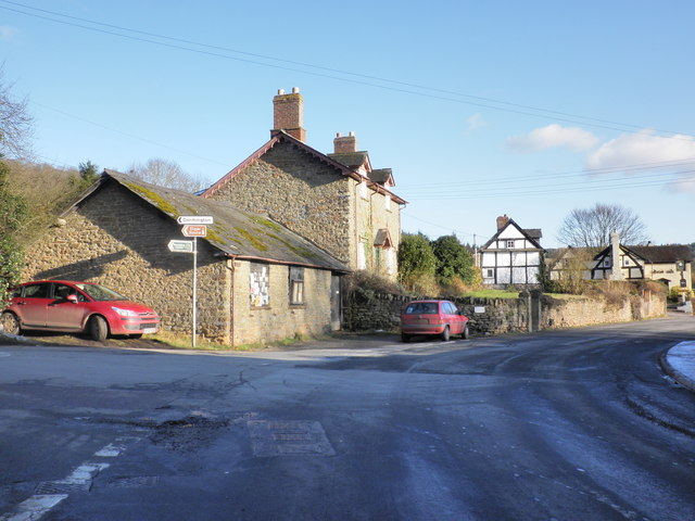 Road junction, Mordiford