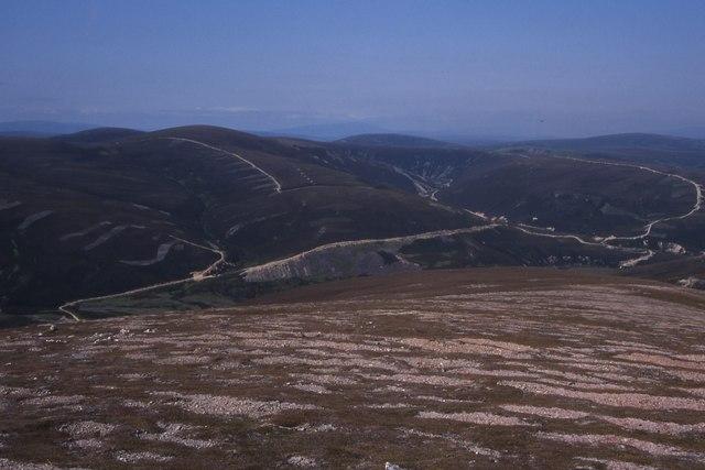 North slope of Da Dhruim Lom