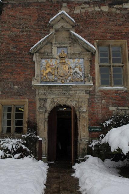 Doorway into the Kings Manor