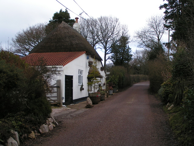 Cottage on Rockbeare Hill