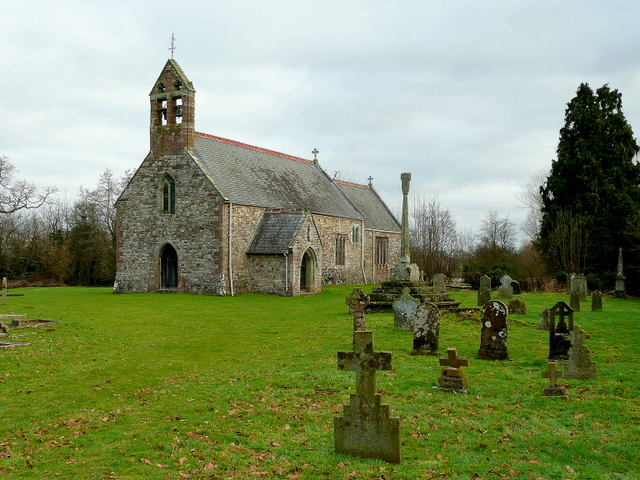 St. Mary's church, Llanfair Kilgeddin