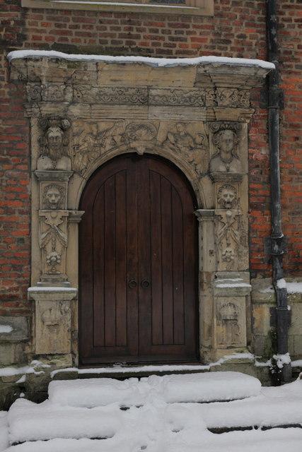 Doorway in the Kings Manor