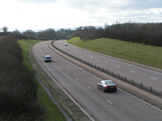 A30 heading for Exeter