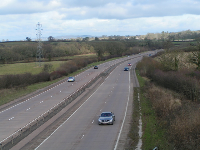 A30 heading for Honiton