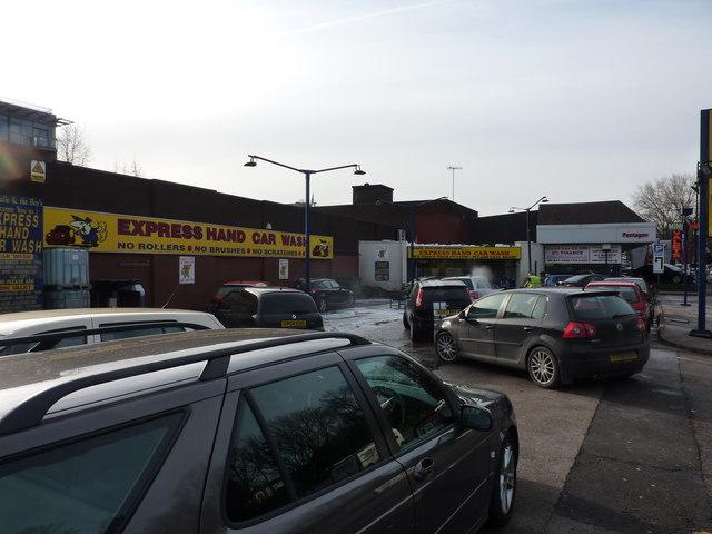 Thriving business at car wash