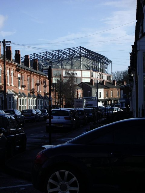 Villa Park from Wenlock Road