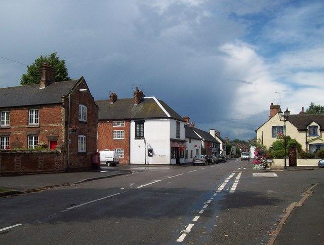 Centre of Aston-on-Trent