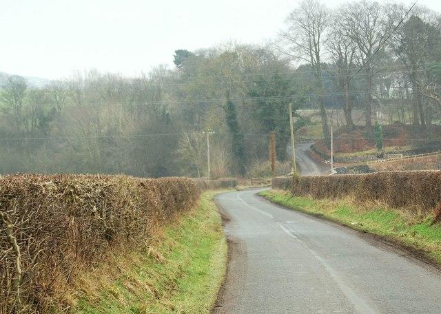 The lane to Llandderfel