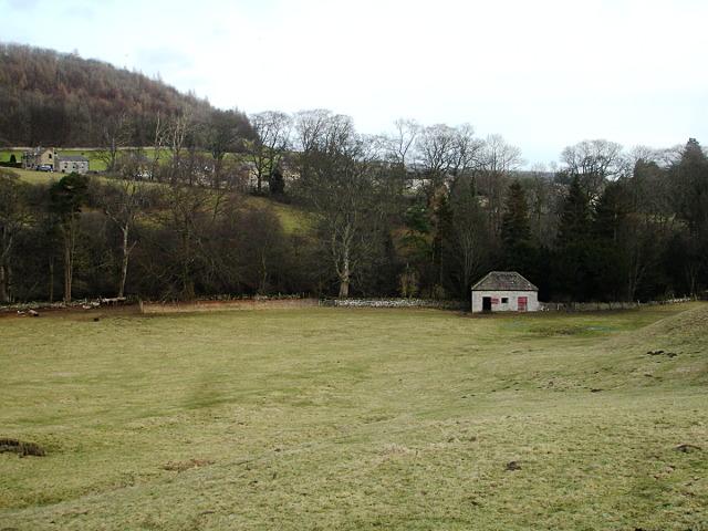 Barn behind Scriddlehurst