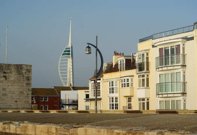Across the Fortifications, Portsmouth