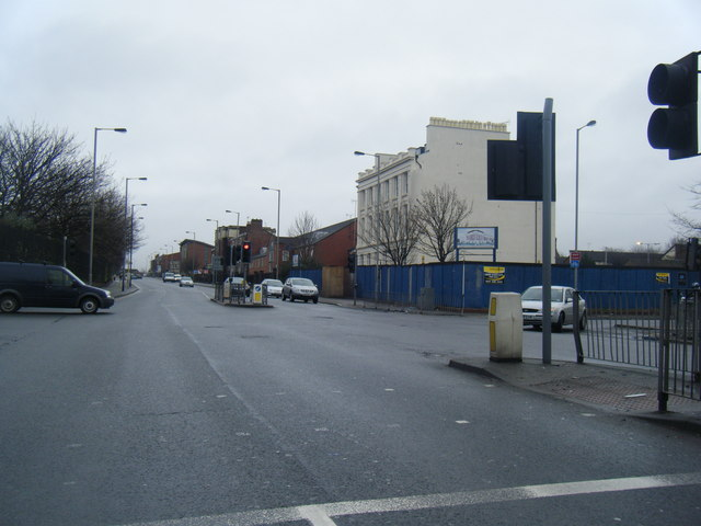 Upper Parliament Street/Crown Street junction.