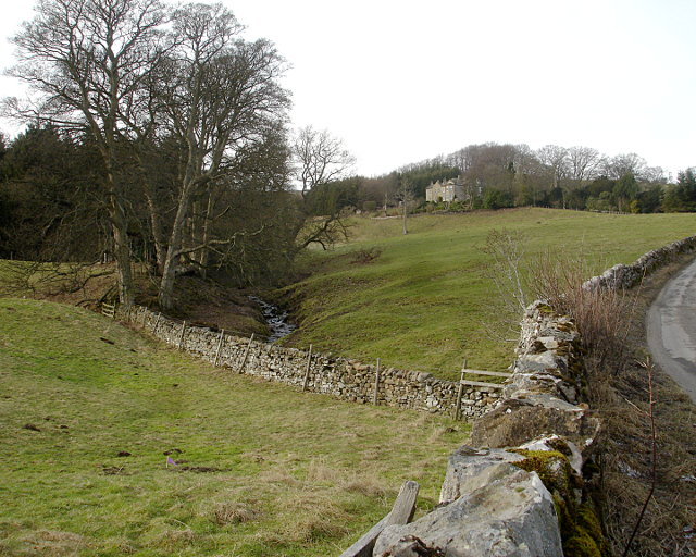 Skelton Hall from Steeping Gill