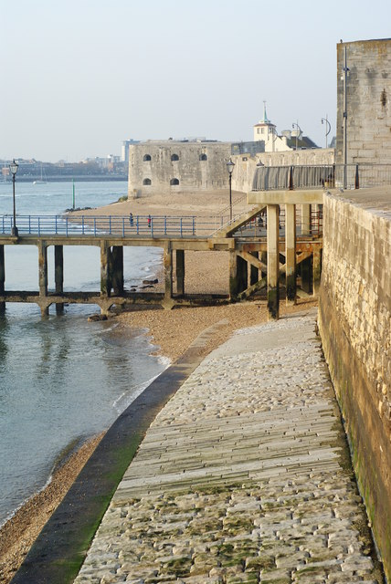 Along the Fortifications, Portsmouth