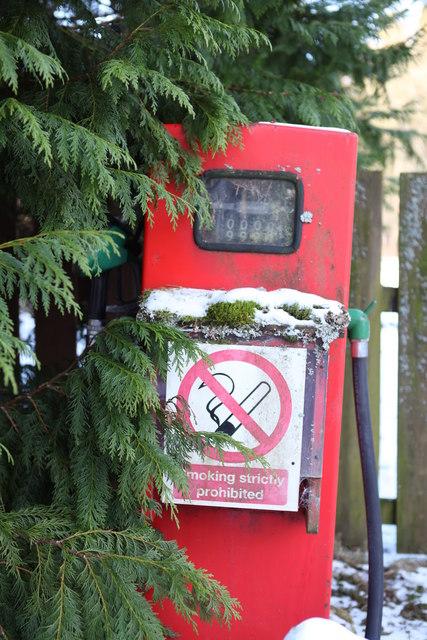 Petrol Pump at Dalmunzie