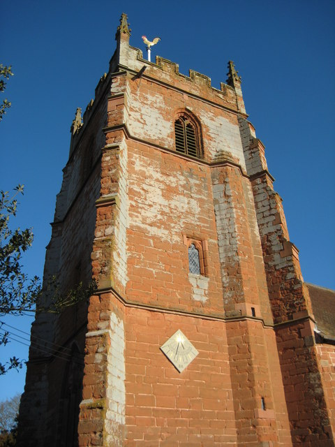 Church tower, Martley