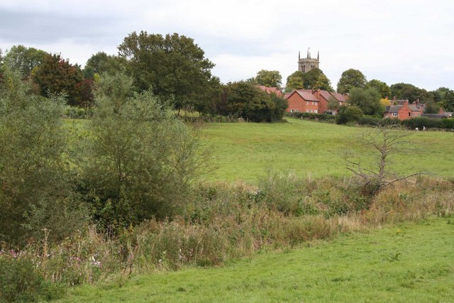 View from Wybunbury Brook