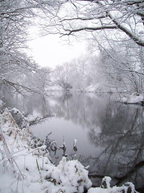 Lake in Aston-on-Trent