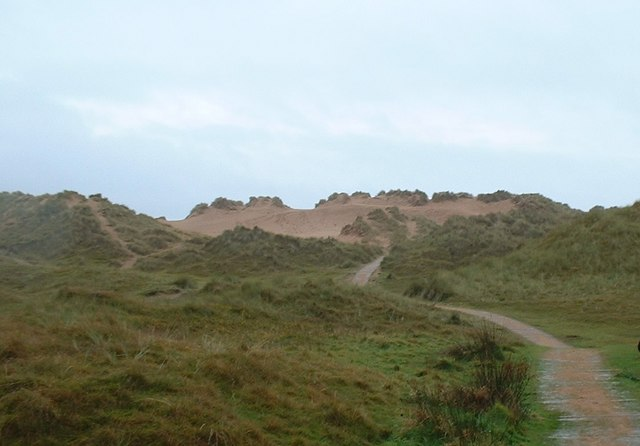 Path towards Balmedie Beach